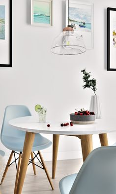 Refreshing dining decor from Kure