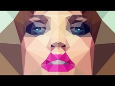 Photoshop: Low Poly! How to Create Low Polygon Images from Photos - YouTube