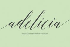 Adelicia Script (40% Off) by Seniors on Creative Market #resources #fonts #elegant #script