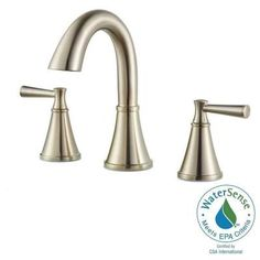 Pfister Cantara 8 in. Widespread 2-Handle High-Arc Bathroom Faucet in Brushed…