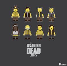 Lego The Walking Dead - Bruno Clasca aka Donnie