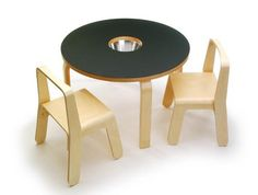wooden tables for kids room, activity table design ideas