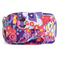 Vera Bradley Smartphone Wristlet 2.0 in Impressionista ($48) ❤ liked on Polyvore featuring accessories, tech accessories, impressionista, tech, vera bradley, vera bradley wristlet, evening wristlet, iphone wristlet and smartphone wristlet