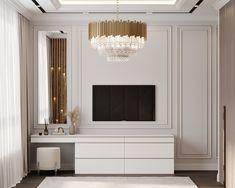 Living Room Sofa Design, Home Room Design, Living Room Designs, Classic Living Room, Elegant Living Room, Interior Design Gallery, Luxury Interior Design, Tv Unit Bedroom, Wall Wardrobe Design