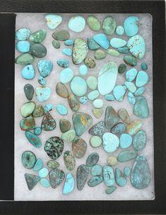 Mystic Sage Varsicite Turquoise Cabochon Natural Piece 33 Carats