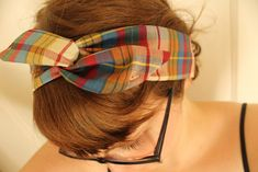 If you have rudimentary sewing skills, you can make this wire headband.