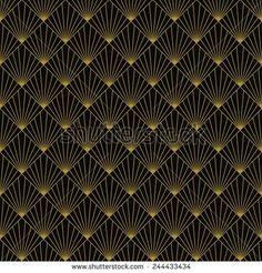 Art Deco Pattern Stock Photos, Royalty-Free Images & Vectors ...