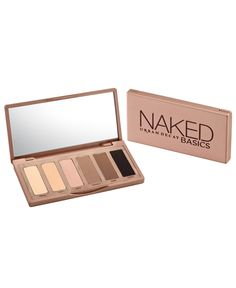 Urban Decay has reinvented the neutral palette with theNaked Basics collection. The 6 matte shades can be used to contour, highlight, line and shadow for a truly unique eye look.