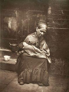 London street life in 1876