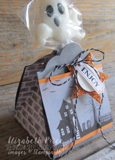 This month's theme for the Creation Station Blog Hop fits the season of tricks and treats, scares and dares, and opportunities to deco...