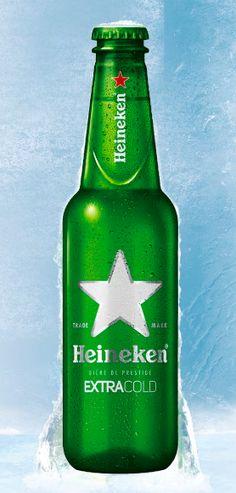 Heineken Extracold Beer Bottle