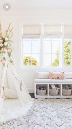 Sweet tepee for a girl's room