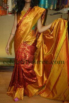 Exclusive Collection of Indian Celebrity Sarees and Designer Blouses Indian Wedding Outfits, Indian Outfits, Indian Clothes, Bridal Silk Saree, Saree Blouse Patterns, Kanchipuram Saree, Traditional Sarees, Saree Dress, Indian Attire