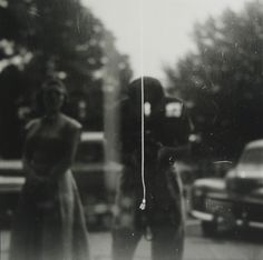 Saul Leiter, Self-portrait (variant), ca. , Howard Greenberg Gallery
