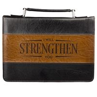 I Will Strengthen You Bible Cover