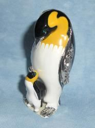Mom and Chick Bejeweled Penguin Box