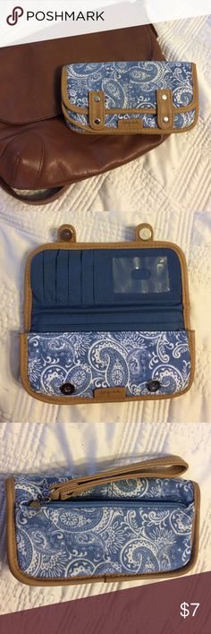 Aeropostale Wallet Paisley-patterned wallet in great condition. As pictured, there is a minor black speck on the front. Aeropostale Bags Wallets