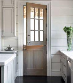 Delightful I Love Wooden Dutch Doors ! Dutch Doors, Farmhouse Door, Farmhouse Style,  Farmhouse