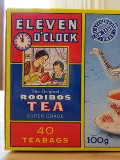 Rooibos tea, loved the world over South Africa, African, Tea, Baseball Cards, History, Historia, Teas