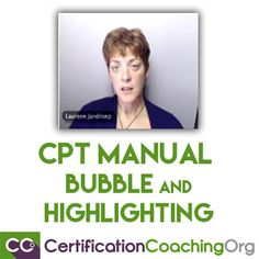 CPT Manual Bubble and Highlighting Technique Explained - Video