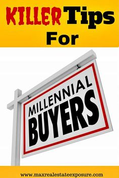 Top Tips For Millennial Home Buyers. Are You Trying to Decide Whether to Continue to Rent or Buy A Home? Take a Look to See Why Buying A Home Could Make Sense:  http://www.maxrealestateexposure.com/tips-for-millennial-home-buyers/ #realestate