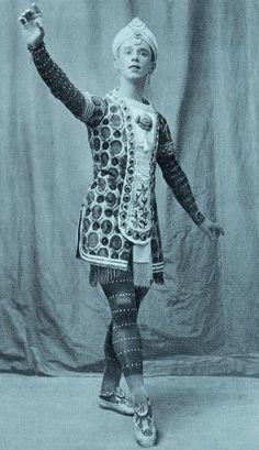 Vaslav Nijinsky in The Firebird (?)