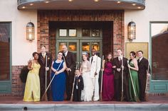Harry Potter Wedding Ideas That Are Totally Reception-Worthy | Photo by: Blue Rose Studio | TheKnot.com
