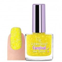 Lak na nehty Carnival 14 Golden Rose