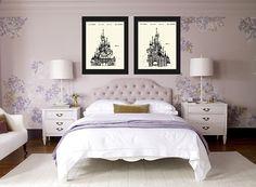 Paarse Accessoires Slaapkamer : Beste afbeeldingen van paarse slaapkamers purple rooms
