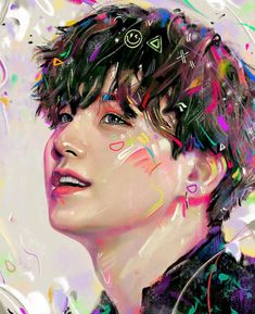 Read Illustrations of BTS, made by from the story scenery Taehyung Fanart, Bts Taehyung, Bts Suga, Bts Jungkook, K Pop, Jikook, Park Ji Min, Bts Drawings, Bts Chibi