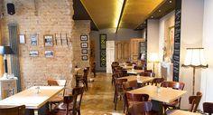 Das Schall & Rauch in Berlin in Prenzlauer Berg ist nicht nur bekannt für sein gutes Essen, sondern auch preisgekrönt: das Restaurant wurde mit dem Deutschen Innenarchitekturpreis ausgezeichnet.