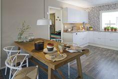 Asuntomessut 2014 Jyväskylässä Ainoakoti HauHaus. www.k-rauta.fi Decor, Table, Furniture, Kitchen, Kitchen Island, Home Decor