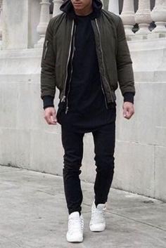 Tomboy Fashion, Streetwear Fashion, Fashion Menswear, Streetwear Men, Mens Fashion, Denim Shirt With Jeans, Denim Shirts, Ripped Jeans, Mode Sombre