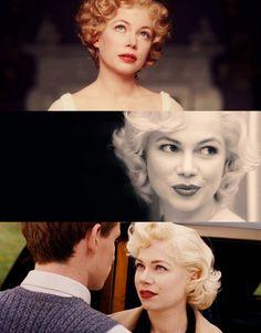 Michelle Williams as Marilyn Monroe in My Week With Marilyn