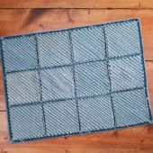 Blue Jean Chenille Rug from Country Woman Magazine