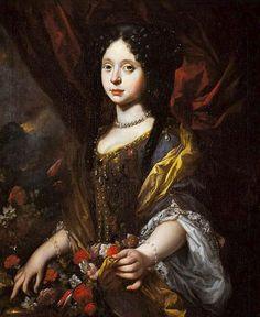 Anna Maria Luisa de'Medici por Antonio Franchi