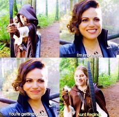 You're getting good / Regina & Robin / 7.10
