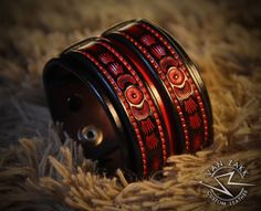 Van Zakk Leather Check out this item in my Etsy shop https://www.etsy.com/listing/269807123/leather-cuff-bracelet-wristband-red