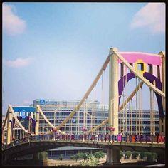 Pittsburgh knit the bridge