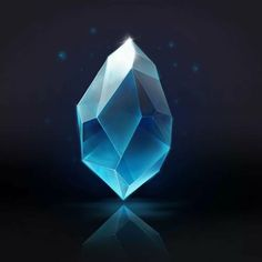 Crystal by Victoria Polozhenceva on ArtStation. Digital Painting Tutorials, Digital Art Tutorial, Art Tutorials, Cristal Art, Crystal Drawing, Fantasy Weapons, Art Techniques, Crystals And Gemstones, Game Design