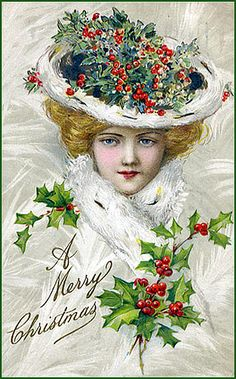 §§§ : holiday hat : ca.1900 :   http://flickriver.com/photos/picture-perfect-designs-jewelry/sets/72157613735788954/