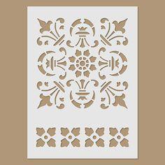Plantilla de bordura por StencilDirect en Etsy