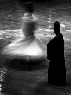 """Whirling Dervish """"We come spinning out of nothingness, scattering stars like dust"""" ~ Rumi Rumi Love Quotes, Whirling Dervish, Images And Words, Islamic Art, Fine Art Photography, Fashion Photography, Black And White Photography, Istanbul, Google Images"""