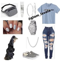 any color plain shirt . any color plain shirt black zip up jacket black jeans (ripped) any color vans (match shirt) Outfit Ideas For Teen Girls, Swag Outfits For Girls, Cute Swag Outfits, Teenage Girl Outfits, Cute Comfy Outfits, Teen Fashion Outfits, Dope Outfits, Cute Outfits For School, Simple Outfits