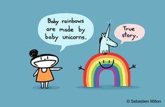 Baby Rainbow by *sebreg