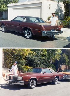 My first car. 1976 Oldsmobile Cutlass Supreme Paid $2000 in 1984