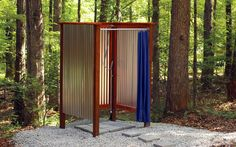 Design Ideas: Outdoor Showers and Tubs | Outdoor Spaces - Patio ...