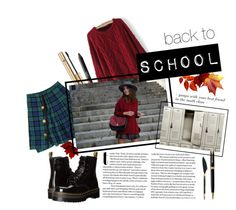 """""""back to school part 2"""" by oanaba on Polyvore featuring NARS Cosmetics, D&G, Dr. Martens and Parker Nars Cosmetics, Back To School, Best Friends, Shoe Bag, Polyvore, Stuff To Buy, Shopping, Design, Women"""