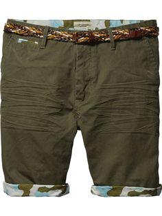 Canvas Shorts |Short pants|Men Clothing at Scotch & Soda