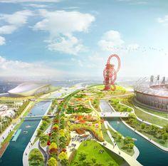 2012 London Olympics Legacy | South Park | James Corner Field Operations
